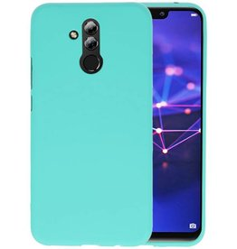 Color TPU Hoesje Huawei Mate 20 Lite Turquoise