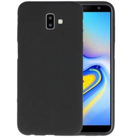BackCover Hoesje Color Telefoonhoesje Samsung Galaxy J6 Plus - Zwart
