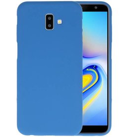 Color TPU Hoesje Samsung Galaxy J6 Plus Navy