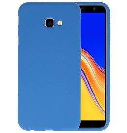 BackCover Hoesje Color Telefoonhoesje Samsung Galaxy J4 Plus - Navy