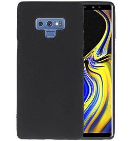 Color TPU Hoesje Samsung Galaxy Note 9 Zwart