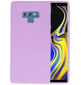 BackCover Hoesje Color Telefoonhoesje Samsung Galaxy Note 9 - Paars