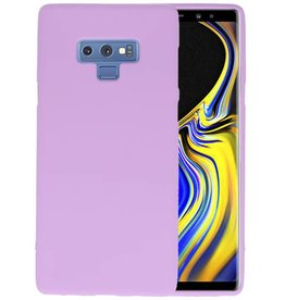 Color TPU Hoesje Samsung Galaxy Note 9 Paars