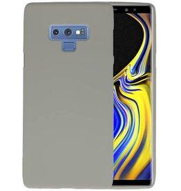 BackCover Hoesje Color Telefoonhoesje Samsung Galaxy Note 9 - Grijs