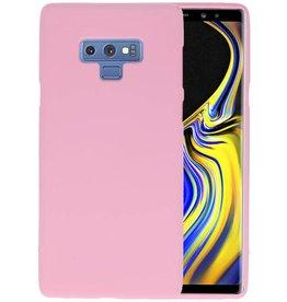 BackCover Hoesje Color Telefoonhoesje Samsung Galaxy Note 9 - Roze