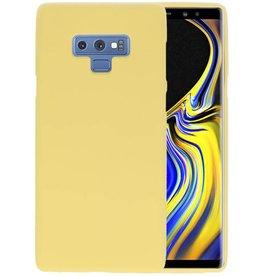 BackCover Hoesje Color Telefoonhoesje Samsung Galaxy Note 9 - Geel