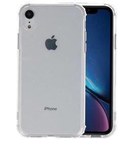 Schokbestendig TPU hoesje iPhone XR Transparant