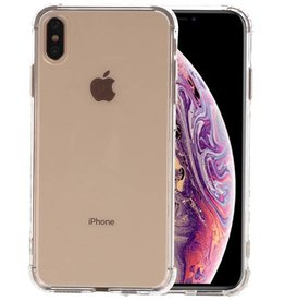 Schokbestendig Back Cover Hoesje iPhone XS Max Transparant