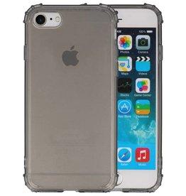 Schokbestendig Back Cover Hoesje iPhone SE 2020 / 8 / 7 Grijs