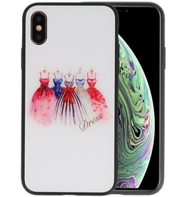 Print Hardcase iPhone XS Dress