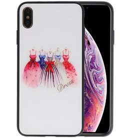 Print Hardcase iPhone XS Max Dress