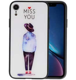 Print Hardcase iPhone XR Miss You
