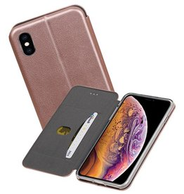 Slim Folio Case iPhone XS Max Roze