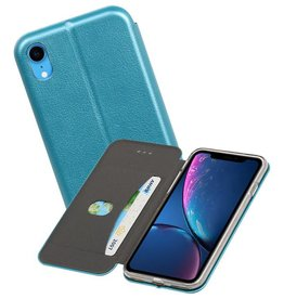 Slim Folio Case iPhone XR Blauw