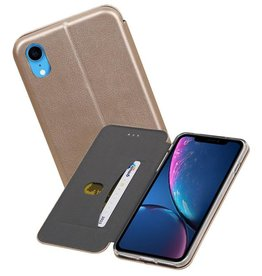 Slim Folio Case iPhone XR Goud