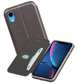 Slim Folio Case iPhone XR Grijs