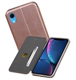 Slim Folio Case iPhone XR Roze