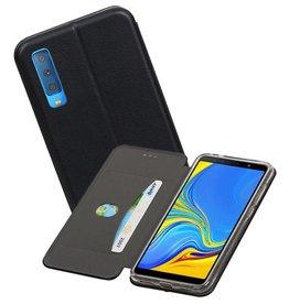Slim Folio Case Samsung Galaxy A7 2018 Zwart