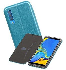 Slim Folio Case Samsung Galaxy A7 2018 Blauw