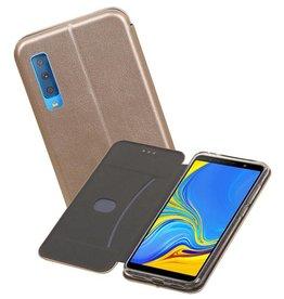 Slim Folio Case Samsung Galaxy A7 2018 Goud