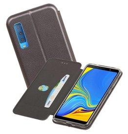 Slim Folio Case Samsung Galaxy A7 2018 Grijs