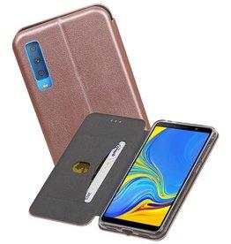 Slim Folio Case Samsung Galaxy A7 2018 Roze