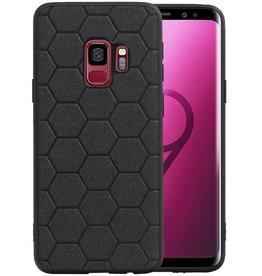 Hexagon Hard Case Samsung Galaxy S9 Zwart
