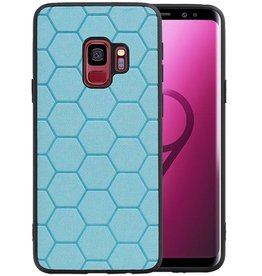 Hexagon Hard Case Samsung Galaxy S9 Blauw