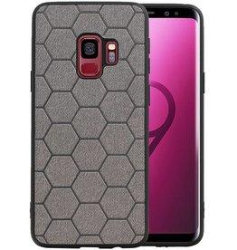 Hexagon Hard Case Samsung Galaxy S9 Grijs