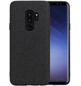 Hexagon Hard Case Samsung Galaxy S9 Plus Zwart