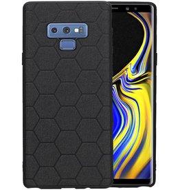 Hexagon Hard Case Samsung Galaxy Note 9 Zwart