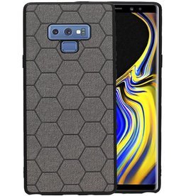 Hexagon Hard Case Samsung Galaxy Note 9 Grijs