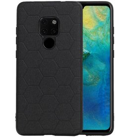 Hexagon Hard Case Huawei Mate 20 Zwart
