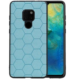 Hexagon Hard Case Huawei Mate 20 Blauw