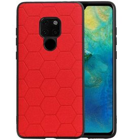 Hexagon Hard Case Huawei Mate 20 Rood