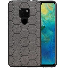 Hexagon Hard Case Huawei Mate 20 Grijs