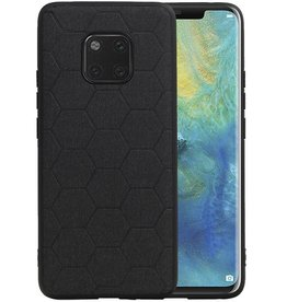 Hexagon Hard Case Huawei Mate 20 Pro Zwart