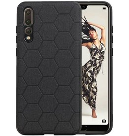 Hexagon Hard Case Huawei P20 Pro Zwart