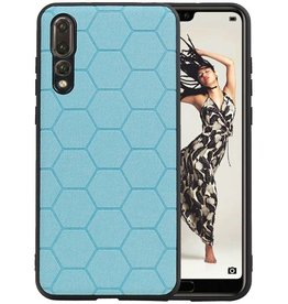 Hexagon Hard Case Huawei P20 Pro Blauw