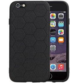 Hexagon Hard Case iPhone 6 / 6s Zwart