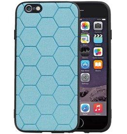 Hexagon Hard Case iPhone 6 / 6s Blauw