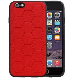 Hexagon Hard Case iPhone 6 / 6s Rood