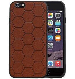 Hexagon Hard Case iPhone 6 / 6s Bruin