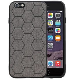 Hexagon Hard Case iPhone 6 / 6s Grijs