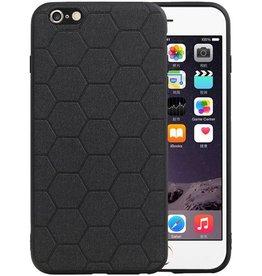 Hexagon Hard Case iPhone 6 Plus / 6s Plus Zwart