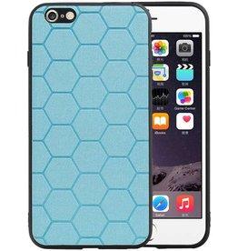 Hexagon Hard Case iPhone 6 Plus / 6s Plus Blauw