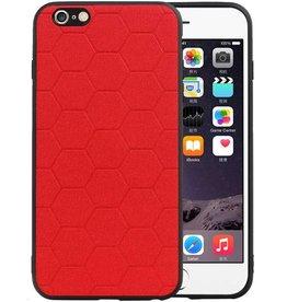 Hexagon Hard Case iPhone 6 Plus / 6s Plus Rood