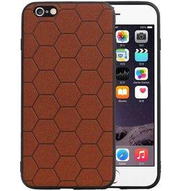 Hexagon Hard Case iPhone 6 Plus / 6s Plus Bruin