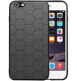 Hexagon Hard Case iPhone 6 Plus / 6s Plus Grijs
