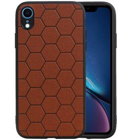 Hexagon Hard Case iPhone XR Bruin